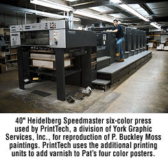 Picture of printing press.
